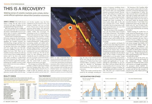Article Preview: THIS IS A RECOVERY?, August 2002   Maclean's