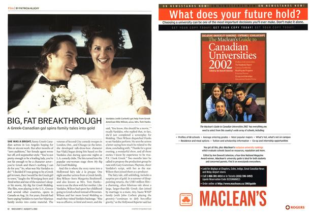 Article Preview: BIG, FAT BREAKTHROUGH, August 2002 | Maclean's