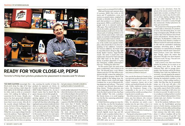 Article Preview: READY FOR YOUR CLOSE-UP, PEPSI, August 2002 | Maclean's
