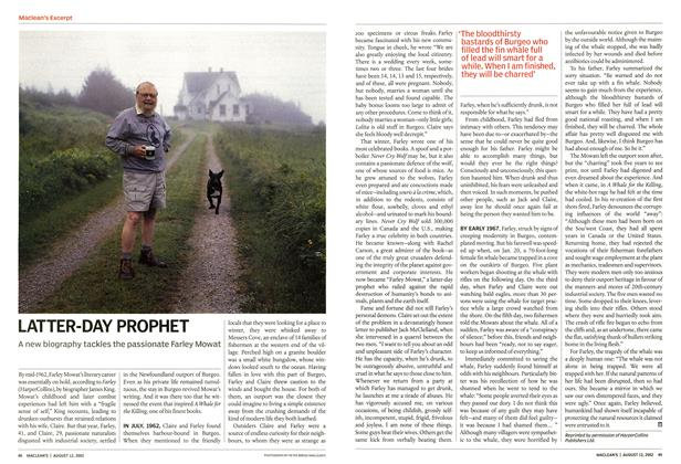 Article Preview: LATTER-DAY PROPHET, August 2002 | Maclean's