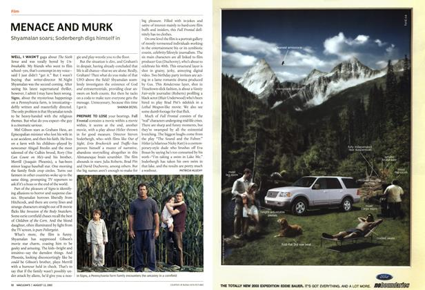 Article Preview: MENACE AND MURK, August 2002 | Maclean's