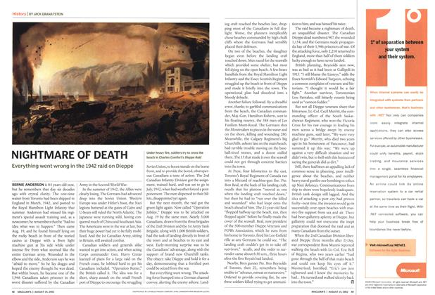 Article Preview: NIGHTMARE OF DEATH, August 2002 | Maclean's
