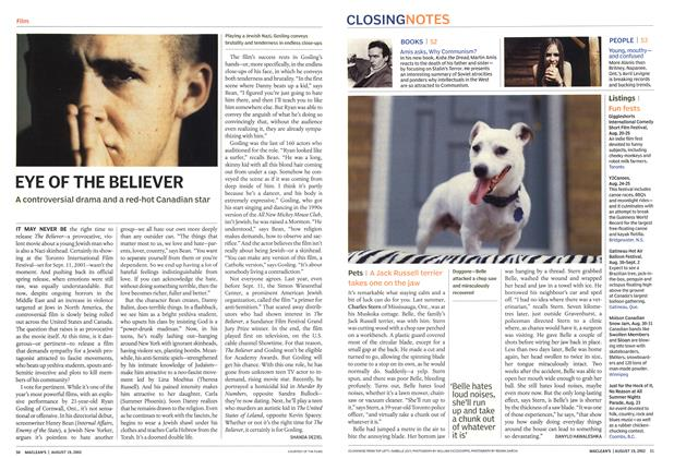 Article Preview: Pets, August 2002 | Maclean's