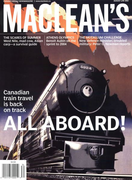 Issue: - August 2002   Maclean's