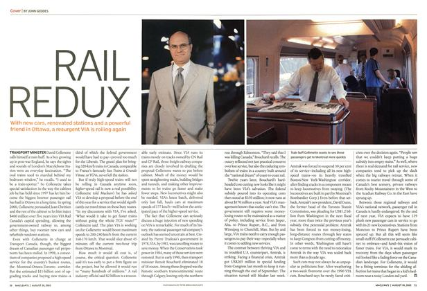 Article Preview: RAIL REDUX, August 2002 | Maclean's