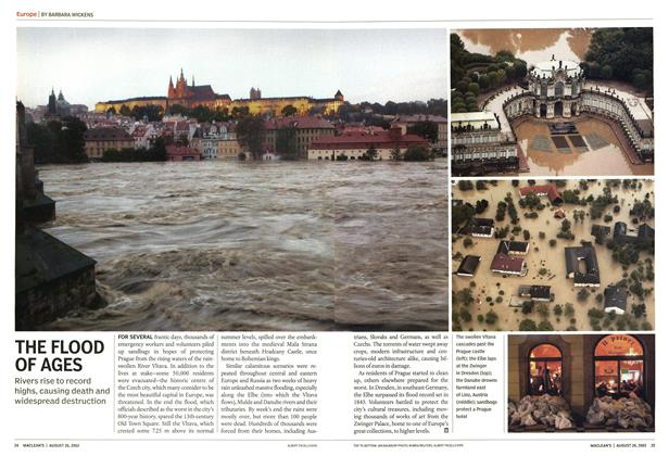 Article Preview: THE FLOOD OF AGES, August 2002 | Maclean's