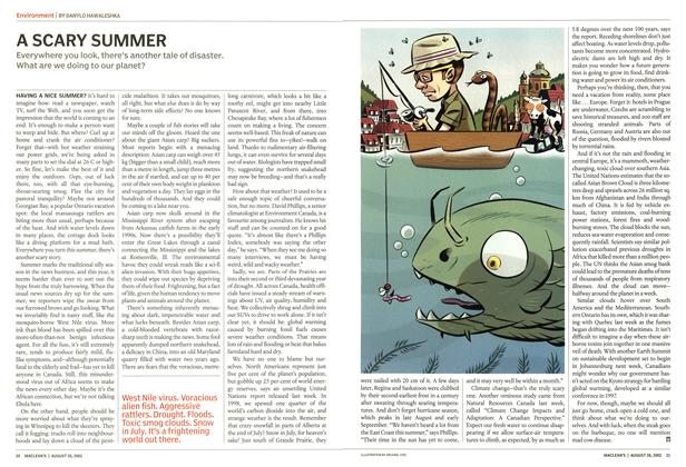 Article Preview: A SCARY SUMMER, August 2002 | Maclean's