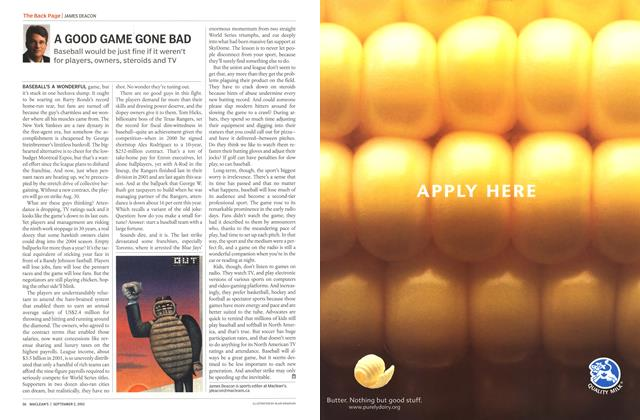 Article Preview: A GOOD GAME GONE BAD, September 2002 | Maclean's