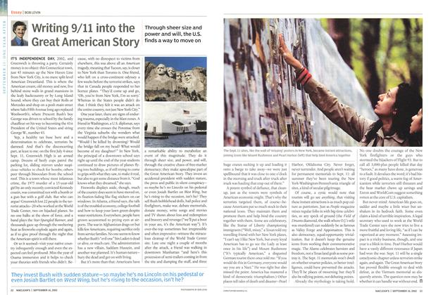 Article Preview: Writing 9/11 into the Great American Story, September 2002 | Maclean's