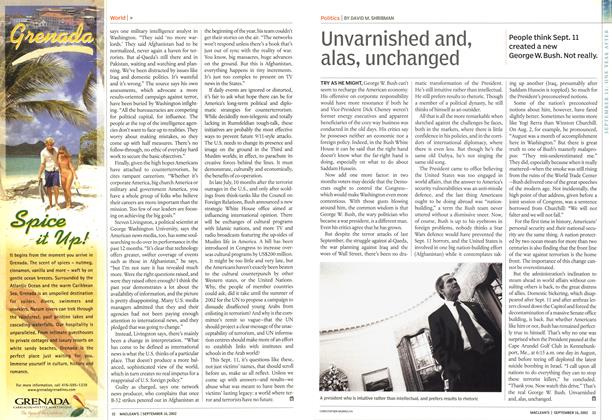 Article Preview: Unvarnished and, alas, unchanged, September 2002 | Maclean's