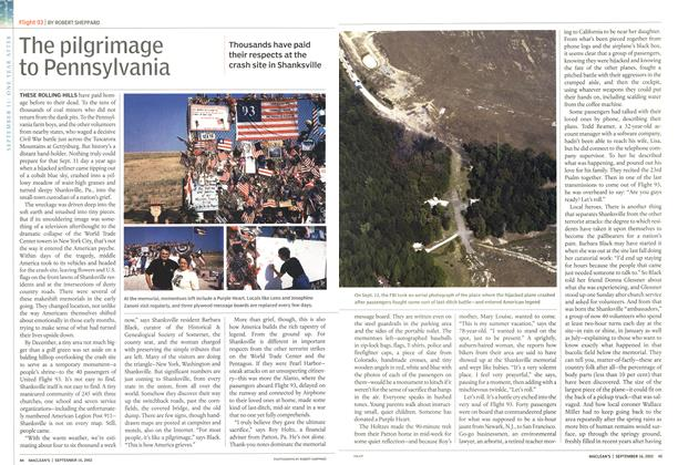 Article Preview: The pilgrimage to Pennsylvania, September 2002 | Maclean's