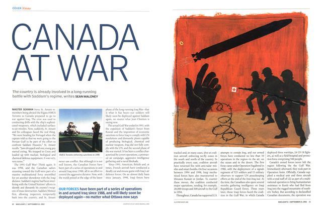 Article Preview: CANADA AT WAR, September 2002 | Maclean's