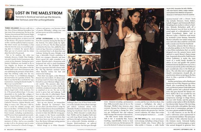 Article Preview: LOST IN THE MAELSTROM, September 2002 | Maclean's