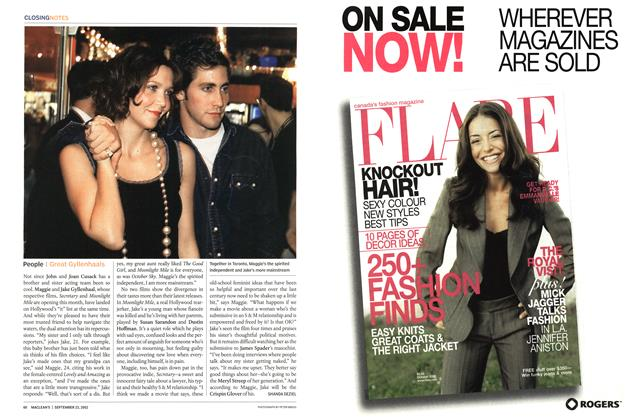 Article Preview: People, September 2002 | Maclean's