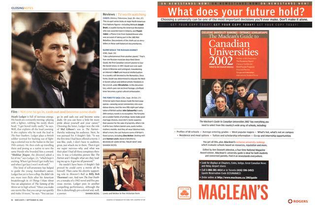 Article Preview: Film, September 2002 | Maclean's