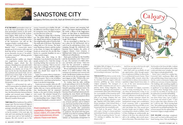 Article Preview: SANDSTONE CITY, October 2002 | Maclean's