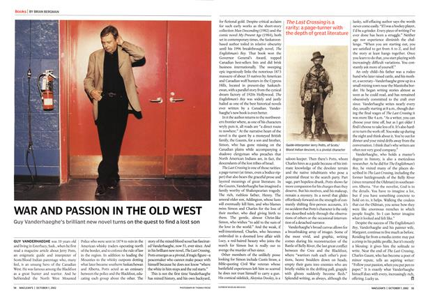 Article Preview: WAR AND PASSION IN THE OLD WEST, October 2002 | Maclean's