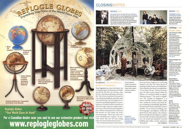Article Preview: Sculpture, October 2002 | Maclean's