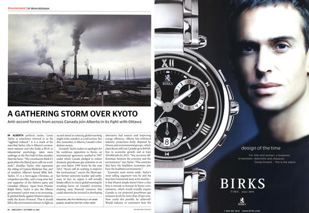Article Preview: A GATHERING STORM OVER KYOTO, October 2002 | Maclean's