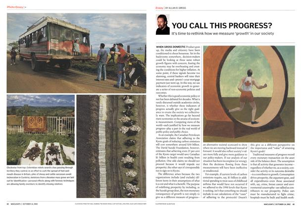 Article Preview: YOU CALL THIS PROGRESS?, October 2002 | Maclean's