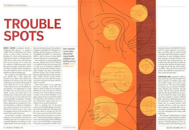 Article Preview: TROUBLE SPOTS, October 2002 | Maclean's