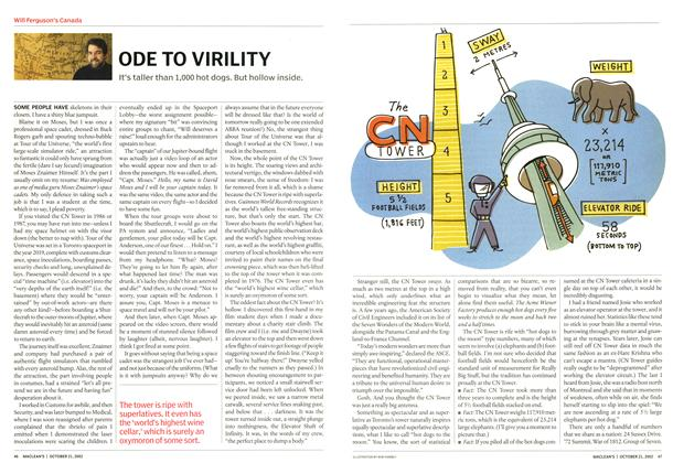 Article Preview: ODE TO VIRILITY, October 2002 | Maclean's