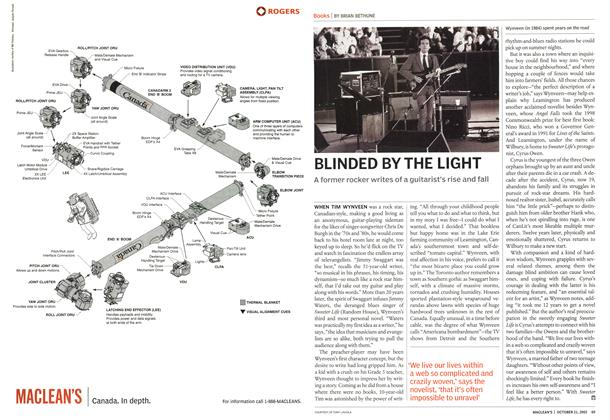 Article Preview: BLINDED BY THE LIGHT, October 2002 | Maclean's