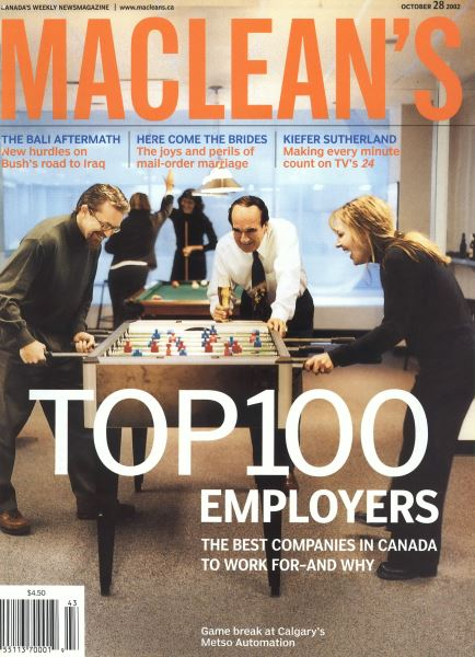 Issue: - October 2002 | Maclean's