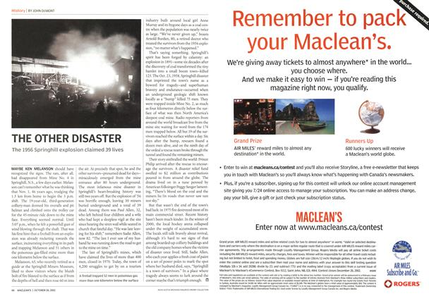 Article Preview: THE OTHER DISASTER, October 2002 | Maclean's