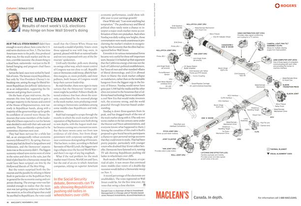 Article Preview: THE MID-TERM MARKET, November 2002 | Maclean's