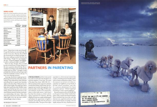 Article Preview: PARTNERS IN PARENTING, November 2002 | Maclean's