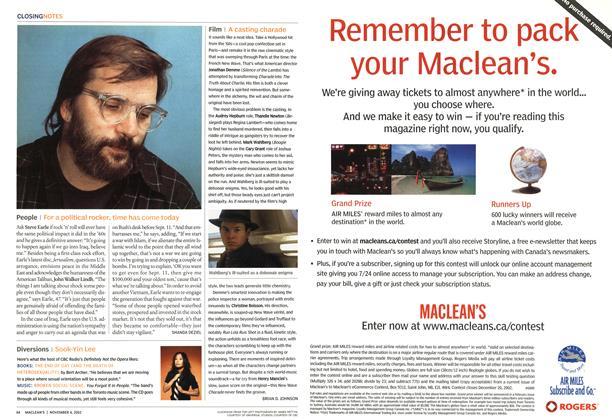 Article Preview: People, November 2002 | Maclean's