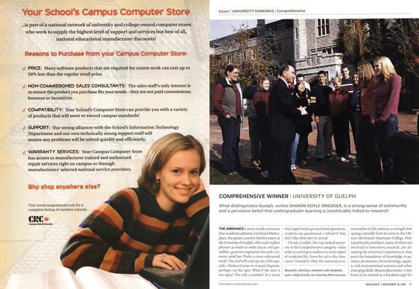 Article Preview: COMPREHENSIVE WINNER, November 2002 | Maclean's