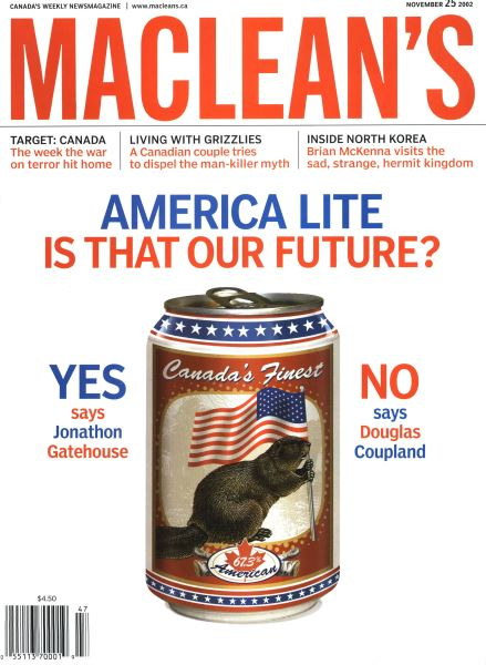 Issue: - November 2002 | Maclean's