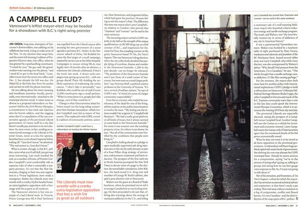 Article Preview: A CAMPBELL FEUD?, December 2002 | Maclean's