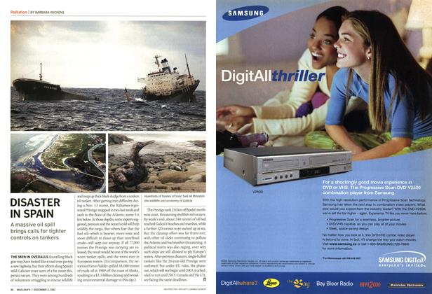 Article Preview: DISASTER IN SPAIN, December 2002 | Maclean's