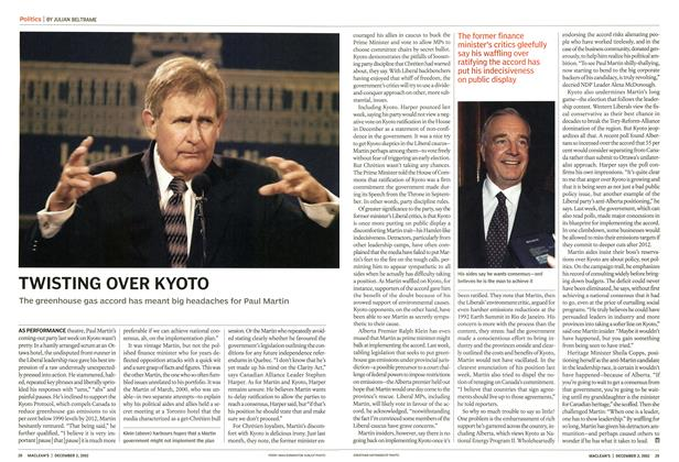 Article Preview: TWISTING OVER KYOTO, December 2002 | Maclean's