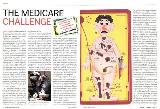 Article Preview: THE MEDICARE CHALLENGE, December 2002 | Maclean's
