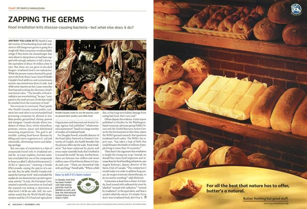 Article Preview: ZAPPING THE GERMS, December 2002 | Maclean's