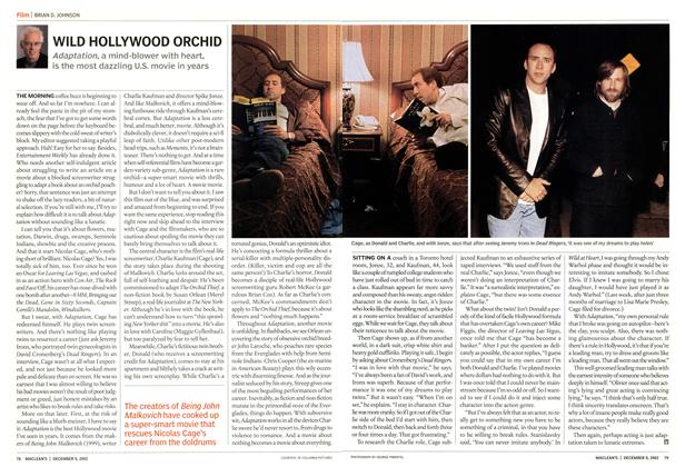 Article Preview: WILD HOLLYWOOD ORCHID, December 2002 | Maclean's
