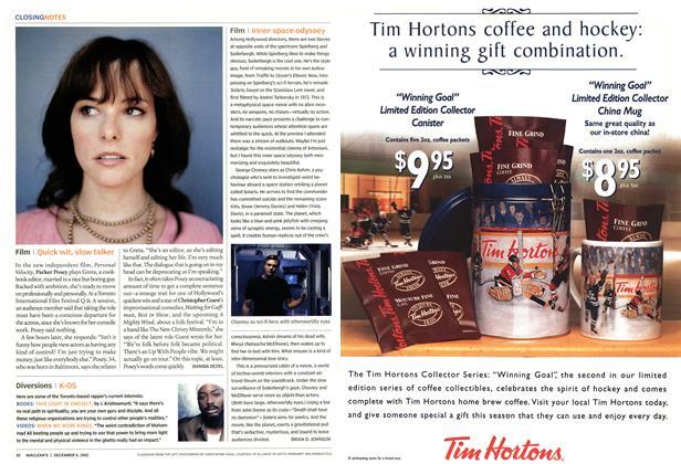 Article Preview: Film, December 2002 | Maclean's