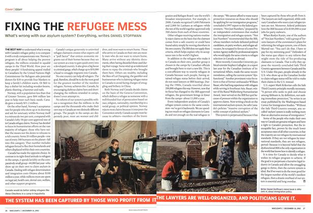 Article Preview: FIXING THE REFUGEE MESS, December 2002 | Maclean's