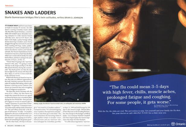 Article Preview: SNAKES AND LADDERS, December 2002 | Maclean's