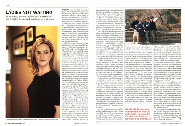 Article Preview: LADIES NOT WAITING, December 2002 | Maclean's