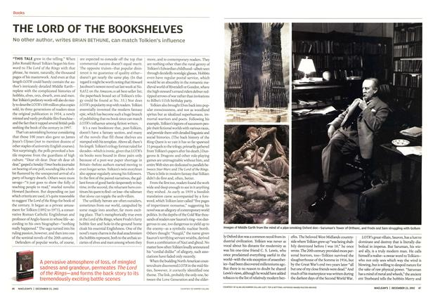 Article Preview: THE LORD OF THE BOOKSHELVES, December 2002 | Maclean's