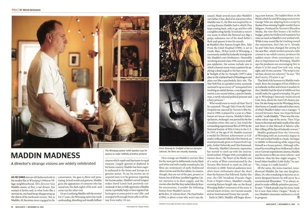 Article Preview: MADDIN MADNESS, December 2002 | Maclean's