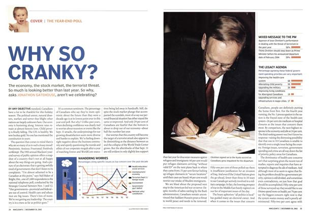 Article Preview: WHY SO CRANKY?, December 2002 | Maclean's