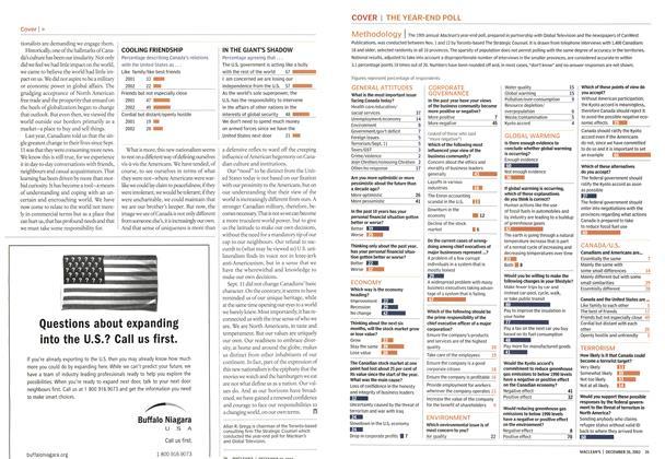 Article Preview: Methodology, December 2002 | Maclean's