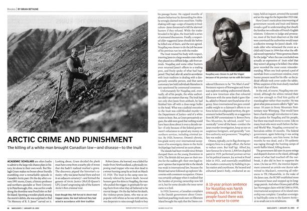 Article Preview: ARCTIC CRIME AND PUNISHMENT, January 2003 | Maclean's