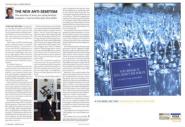 Article Preview: THE NEW ANTI-SEMITISM, January 2003 | Maclean's